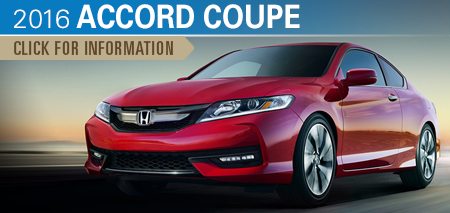 Click to Research The New 2016 Honda Accord Coupe Model in Chicago, IL