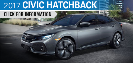Click to Research Our 2017 Honda Civic Hatchback Model in Chicago, IL