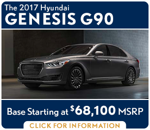 Click to research the new 2017 Genesis G90 model in Palatine, IL
