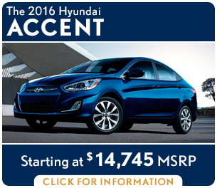 Click For New 2016 Hyundai Accent Model Information in Palatine, IL