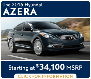 Click to research the new 2016 Hyundai Azera model in Palatine, IL