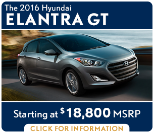 Click For New 2016 Hyundai Elantra GT Model Information in Palatine, IL