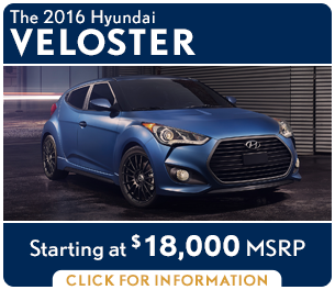 Click to research the new 2016 Hyundai Veloster model in Palatine, IL