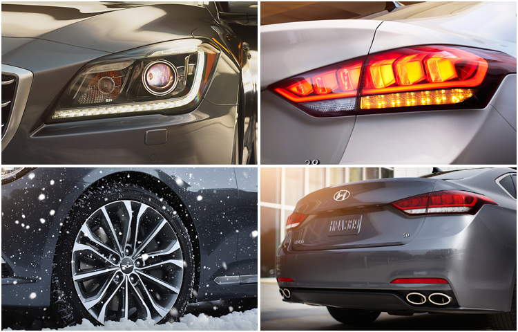 2016 Hyundai Genesis Sedan Model Information