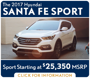 Click For New 2017 Hyundai Santa Fe Sport Model Information in Palatine, IL