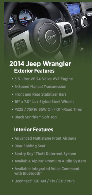 2014 Jeep Wrangler Model | Denver, CO