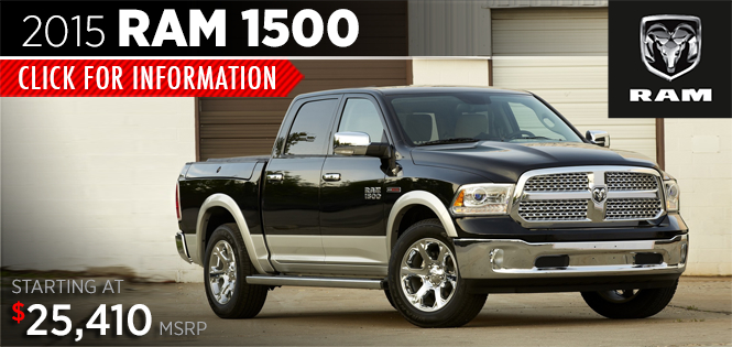 Ram 2015 Model Information Serving Puyallup And Tacoma