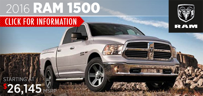 Click to Research The 2016 Ram 1500 Model in Tacoma, WA
