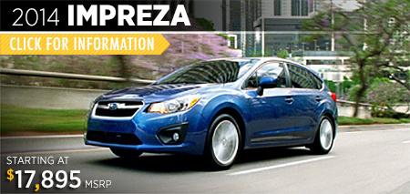 Click to View The 2014 Subaru Impreza Model Auburn, CA