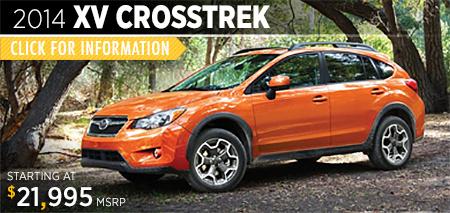 View details on the New 2014 Subaru XV Crosstrek available at Gold Rush Subaru