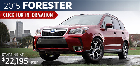 Click to View 2015 Subaru Forester Details & Information