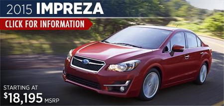 Click to View the 2015 Subaru Impreza Model in Steamboat Springs, CO