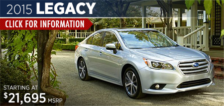 Click to View the 2015 Subaru Legacy Model in Steamboat Springs, CO