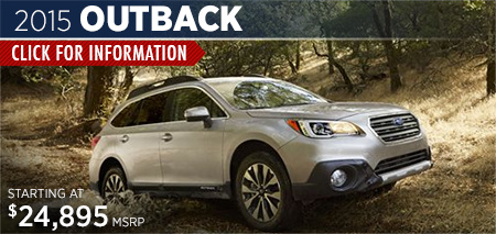 Click to View 2015 Subaru Outback Details & Information