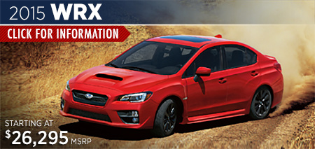 Click to View the 2015 Subaru WRX Model in Steamboat Springs, CO