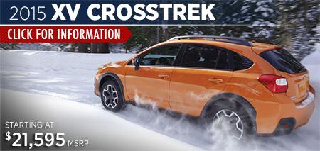 Click to View the 2015 Subaru XV Crosstrek Model in Steamboat Springs, CO