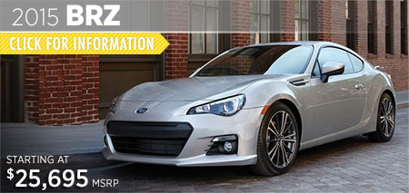 Check out the new 2015 Subaru BRZ at Subaru of Puyallup, Puyallup, WA