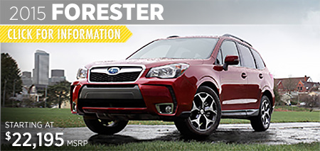 Check out the new 2015 Subaru Forester at Subaru of Puyallup, Puyallup, WA