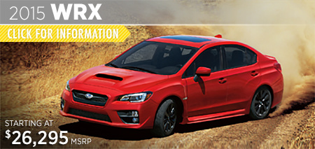 Check out the new 2015 Subaru WRX at Subaru of Puyallup, Puyallup, WA