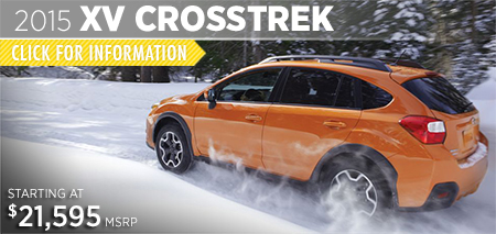 Click to See The 2015 Subaru XV Crosstrek Model in Puyallup, WA