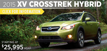Click to See The 2015 Subaru XV Crosstrek Hybrid Model in Puyallup, WA