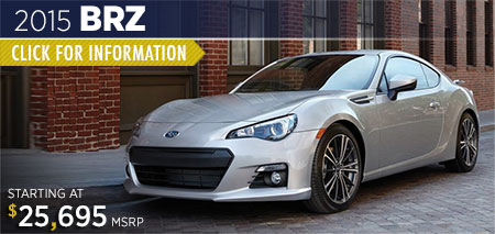 Click to View 2015 BRZ information