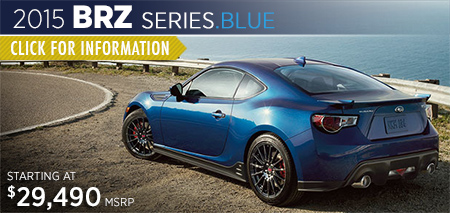 Click to View 2015 BRZ Series.Blue Series information