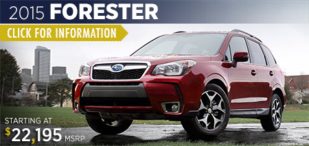 Click to view details on the 2015 Subaru Forester