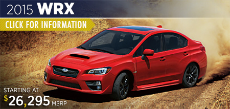 Click to view details on the 2015 Subaru WRX
