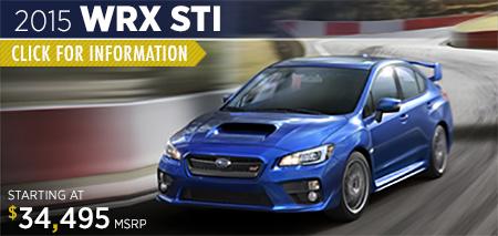 Click to view details on the 2015 Subaru WRX STI