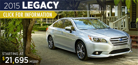 Click to view details on the 2015 Subaru Legacy