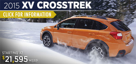 Click to view the 2015 Subaru XV Crosstrek Model Specifications & Details