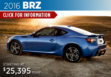 Click to Research The New 2016 Subaru BRZ Model in Somerset, NJ