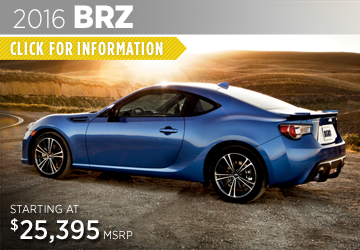 Click For 2016 Subaru BRZ Model Details in Puyallup, WA