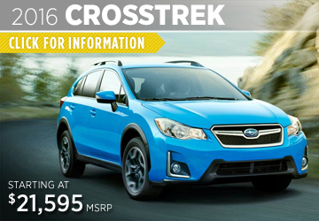 Click For 2016 Subaru Crosstrek Model Information in Puyallup, WA