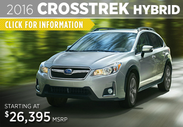 Click For 2016 Subaru Crosstrek Hybrid Model Details in Puyallup, WA