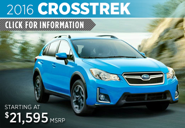 Click to View 2016 Subaru Crosstrek Information