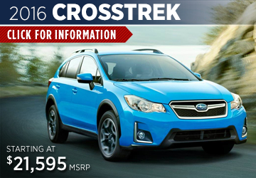 Click to View The 2016 Subaru Crosstrek Model Available in Steamboat Springs, CO