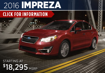 Click to View The 2016 Subaru Impreza Model Available in Steamboat Springs, CO