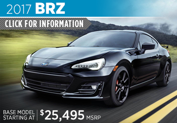 Click to View 2017 Subaru BRZ Model Details in Auburn, WA
