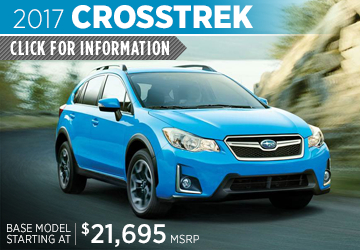 Click to View 2017 Subaru Crosstrek Model Details in Auburn, WA