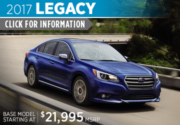 Click to View 2017 Subaru Legacy Model Details in Auburn, WA