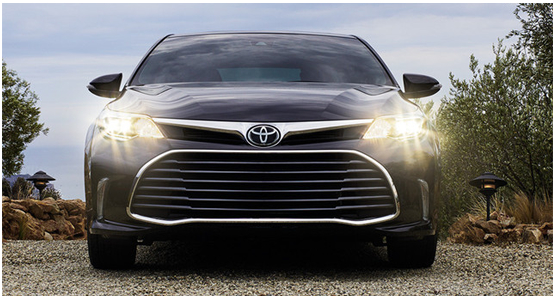 2016 Toyota Avalon Hybrid Model Exterior Design