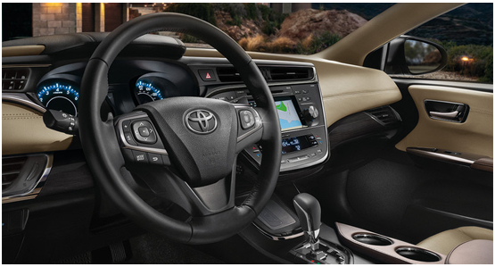 2016 Toyota Avalon Hybrid Model Interior Style & Features