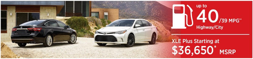 New 2016 Toyota Avalon Hybrid Model Mileage & MSRP