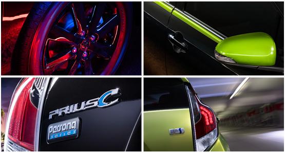 2016 Toyota Prius c Model Exterior Features