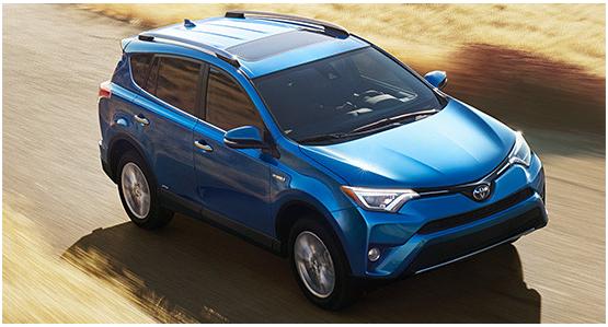 2016 Toyota RAV4 Hybrid Model Exterior Design