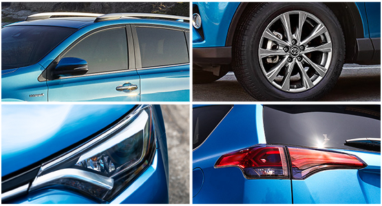 2016 Toyota RAV4 Hybrid Model Exterior Features