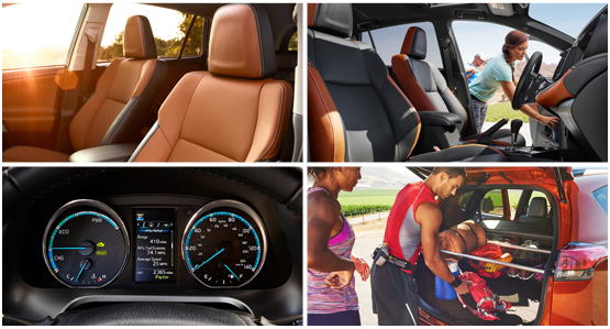 2016 Toyota RAV4 Hybrid Model Interior Style & Features